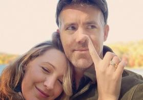 Ew! Blake Lively picks husband Ryan Reynolds' nose on his birthday