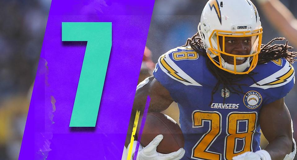 <p>Criticizing Anthony Lynn for playing Melvin Gordon with a big lead is hindsight. The problem was that Gordon shouldn't have played at all. It might cost the Chargers a shot at the AFC West. (Melvin Gordon) </p>