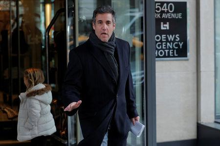 Trump lawyer Michael Cohen expected at court hearing over searches