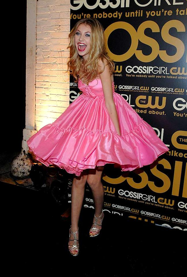"September 2007: In the early days of ""Gossip Girl,"" both Little J and Taylor were flirty and girly with their style as Momsen proved here in this poufy bubblegum pink number!   <a href=""http://www.seventeen.com/fashion/makeovers/katy-perry-fashion-makeover?link=rel&dom=yah_omg&src=syn&con=art&mag=svn"" target=""new"">Katy Perry: Then and Now</a> Larry Busacca/<a href=""http://www.wireimage.com"" target=""new"">WireImage.com</a> - September 18, 2007"