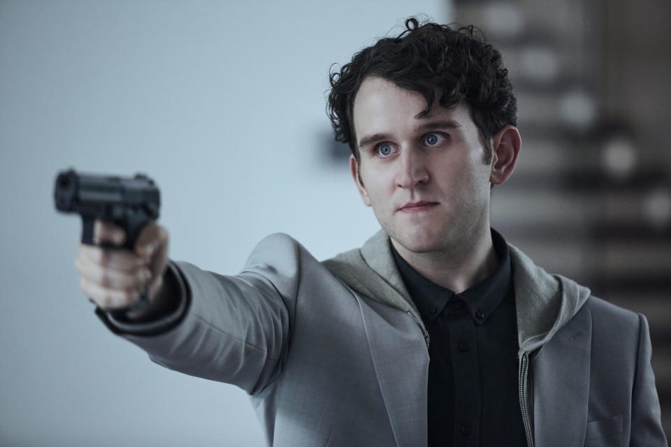 Harry Melling in The Old Guard (Ed Miller/Netflix)