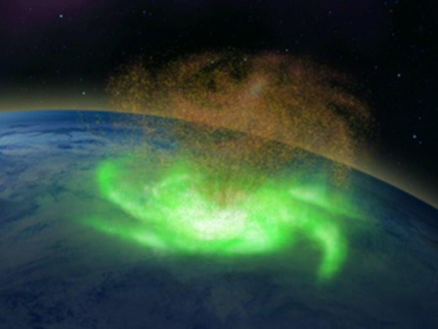 Scientists say they have confirmed the existence of space hurricanes after analysing a 1,000km-wide swirling mass of plasma spotted hundreds of kilometres above the North Pole (PA)