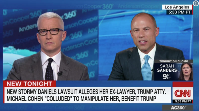 Michael Avenatti Calls For 'Absolute Pig' Rudy Giuliani To Be Fired After Comments