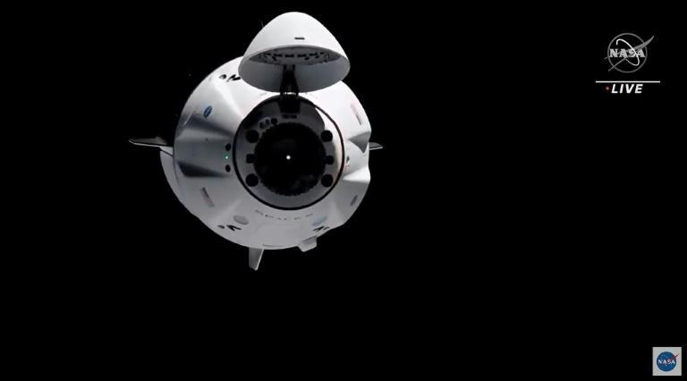 A Crew Dragon spacecraft is scheduled to splash down in the dark off Panama City, Florida, in the Gulf of Mexico