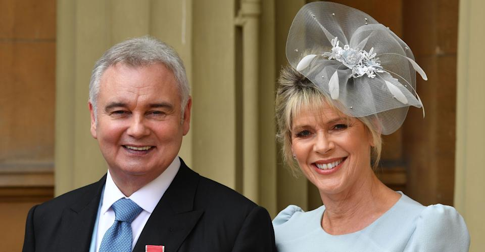 Eamonn Holmes with wife Ruth Langsford. (PA Images)