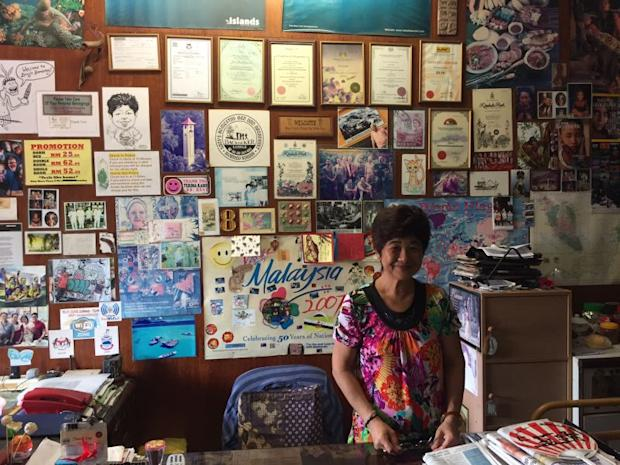 Lucy Chong is the owner of Lucy's Homestay which was the original backpackers' hostel on the street.