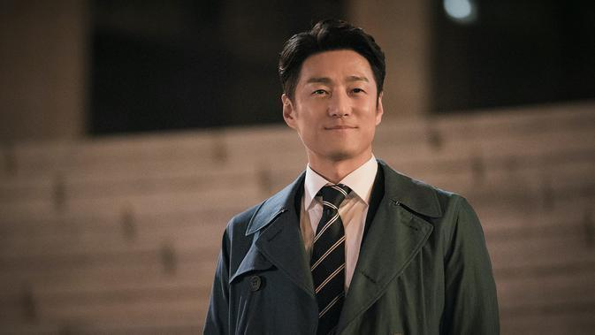 Kang Tae Uk di serial Misty. (Foto: Netflix)