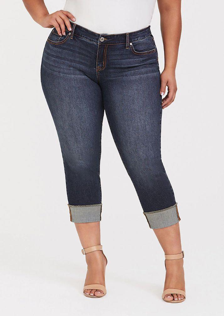 Torrid Crop Boyfriend (Photo: Torrid)