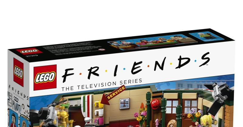 LEGO Releases Friends Set in Honor of Sitcom's 25th Anniversary