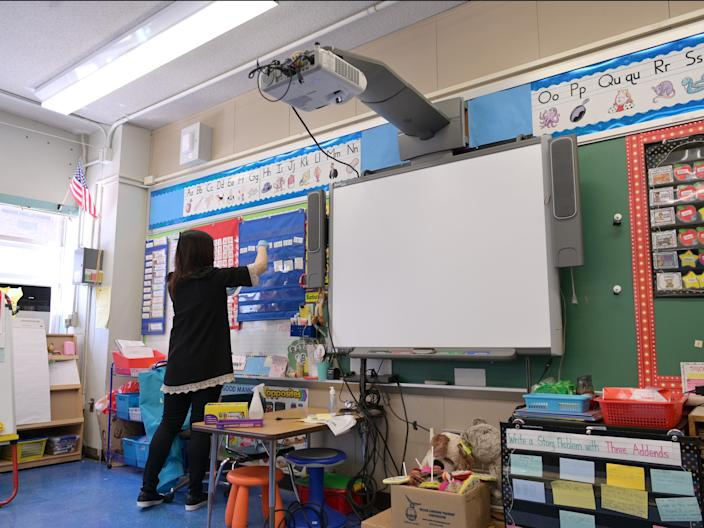 In September, schools will reopen partially in New York City, which is home to the largest school system in the US.