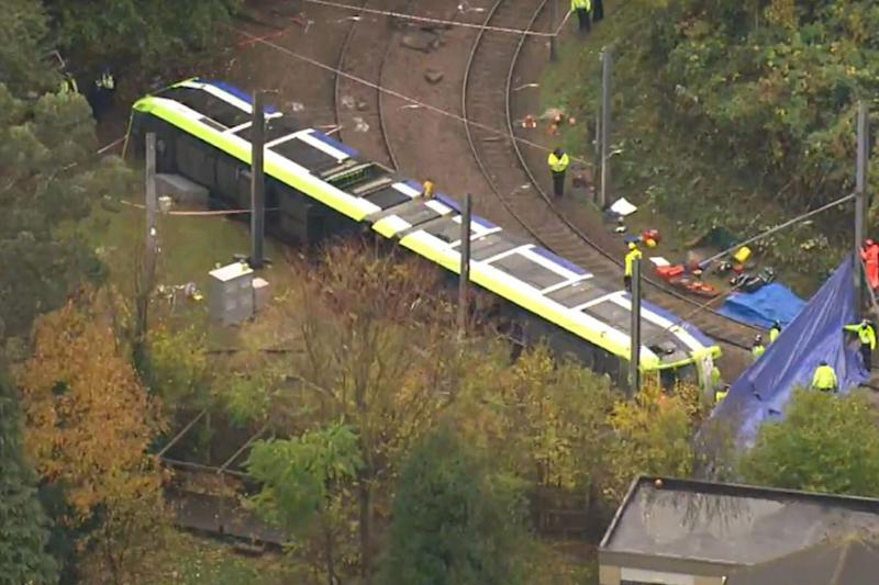 Seven people were killed in the tram crash (PA / Sky News)