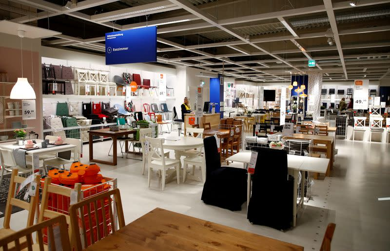 FILE PHOTO: Picture shows a show room of an IKEA store, the world's biggest furniture group, in Kaarst