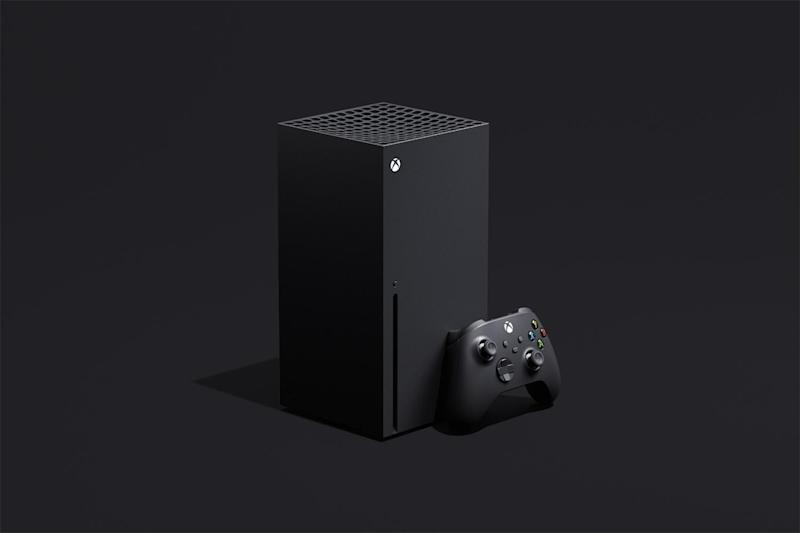 The new Xbox Series X in all its block-shaped glory: Microsoft