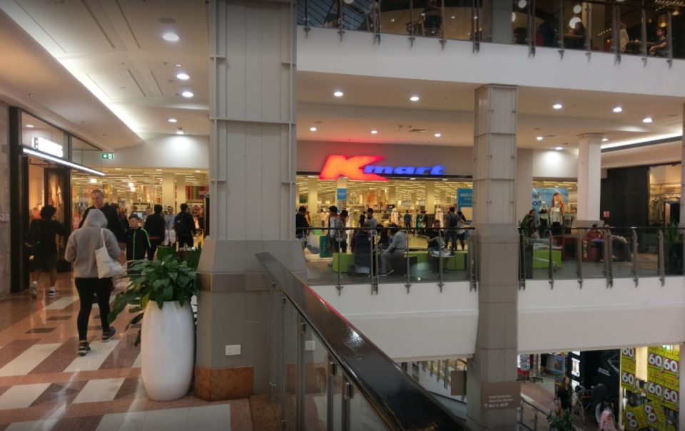 Kmart at Broadway is pictured.