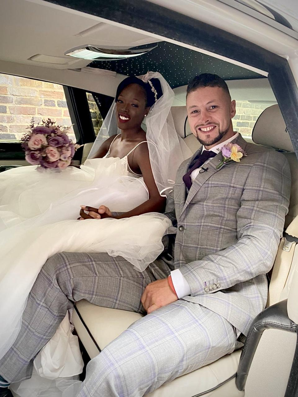Yolanda and Chris got married the day before she entered the Channel 4 reality series
