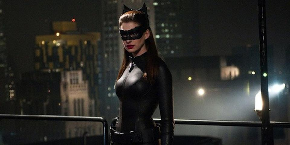Anne Hathaway as Catwoman (Credit: Warner Bros)