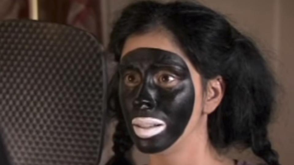 Sarah Silverman appeared in blackface during a 2007 episode of 'The Sarah Silverman Program'. (Credit: Comedy Central)