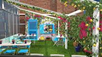 <p>On the fifth floor of the Knightsbridge-based department store, the outside terrace has been taken over by Malfy Gin and transformed into a Mediterranean al-fresco space </p>