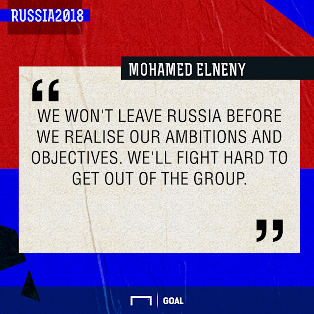 The Pharaohs are in dire need of a win against Russia on Tuesday to stand a chance to reach the World Cup knockout phase