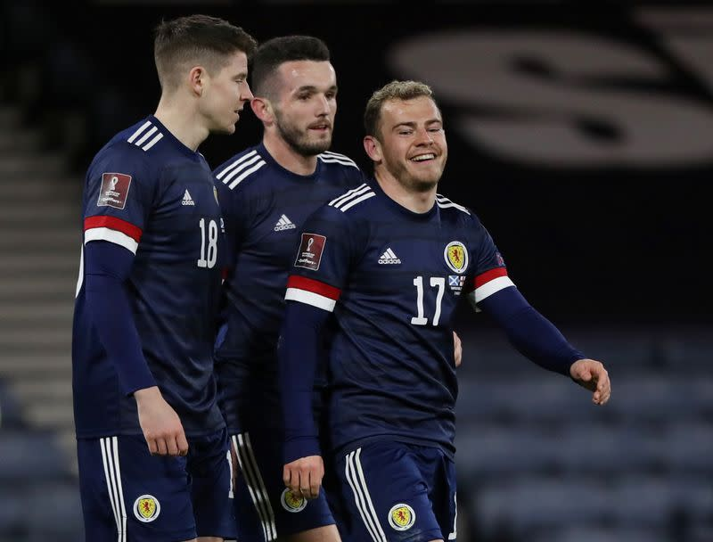 FILE PHOTO: World Cup Qualifiers Europe - Group F - Scotland v Faroe Islands