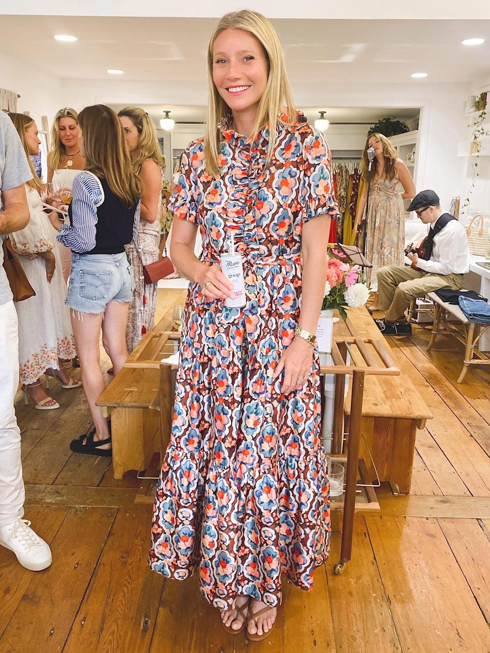 <p>Gwyneth Paltrow hosts the celebration for the launch of a special collaboration with Miami Cocktail Company on July 27.</p>
