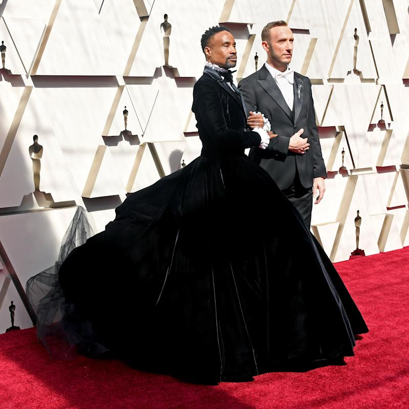 Billy Porter and his husband, Adam Smith. (Photo: Frazer Harrison via Getty Images)