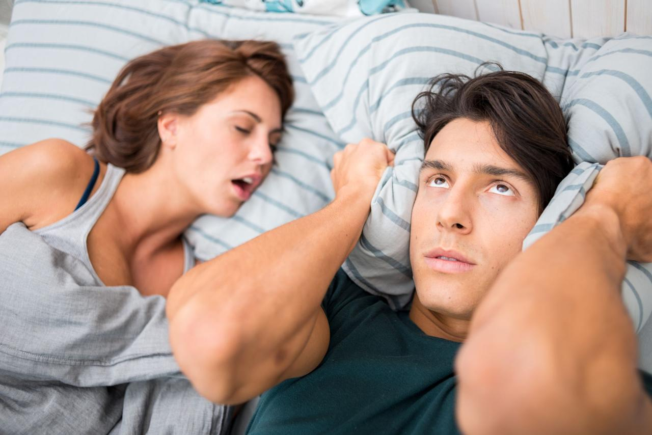 "<p>If you're like most Americans, you probably do one pesky thing in your <a href=""https://www.womansday.com/health-fitness/wellness/g1875/how-to-get-your-best-nights-sleep-ever/"" target=""_blank"">sleep</a> — snore. According to the National Sleep Foundation, <a href=""https://www.sleepfoundation.org/articles/snoring-and-sleep"" target=""_blank"">90 million Americans report snoring at some point</a> (and for 37 million, it's an ongoing problem). In some cases, the noisy disruption is just an annoyance for their bedmate. But for many others, loud, frequent snoring can be a sign of a serious health issue like <a href=""https://www.womansday.com/health-fitness/womens-health/advice/a2697/checkup-sleep-apnea-583/"" target=""_blank"">sleep apnea</a>, so it's really important that you figure out how to stop snoring. </p><p>Sleep apnea is a serious condition involving pauses in breathing during sleep that can then lead to other problems, including ones involving the heart like high blood pressure. A recent study has even identified a <a href=""https://newsnetwork.mayoclinic.org/discussion/mayo-clinic-study-shows-sleep-apnea-may-be-tied-to-increased-alzheimers-biomarker-in-brain/"" target=""_blank"">connection between Alzheimer's and sleep apnea</a>. Fortunately, there are many lifestyle changes and products on the market to try if you'd like to learn how to stop snoring at night. So tonight, instead of losing sleep over it, put the problem to bed by learning how to stop snoring.<br></p>"