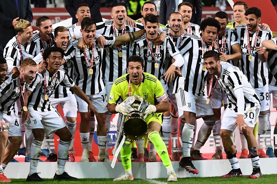 Juventus are record-holders in the competitionAFP via Getty Images
