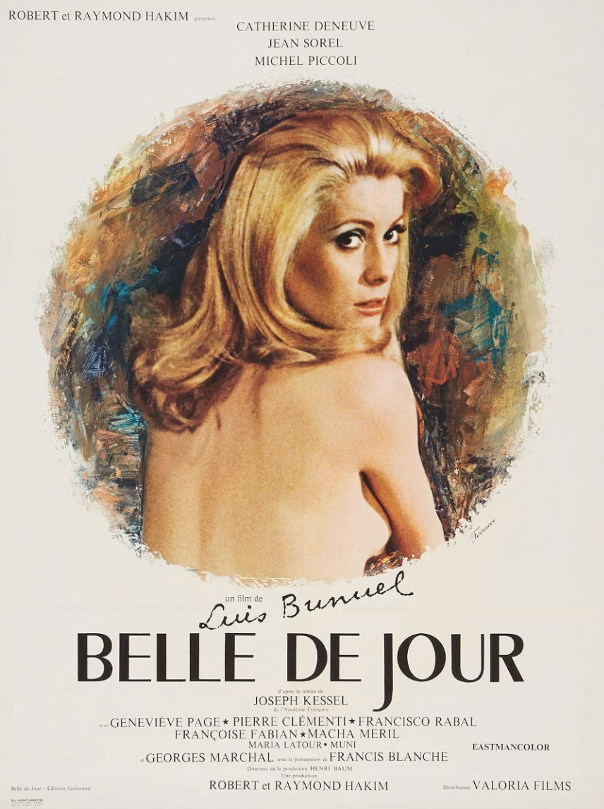 """<p>Had Kubrick directed <em>Eyes Wide Shut</em> in the '60s, it might have been the more toned down (though still erotic for its time) <em>Belle de Jour</em>, a film about a French woman who, unable to be intimate with her husband, decides to become a high class prostitute. The film unpacks all kind of sexual fantasy, which would have likely been censored in most countries only a decade or so earlier.</p><p><a class=""""link rapid-noclick-resp"""" href=""""https://www.amazon.com/Belle-English-Subtitled-Catherine-Deneuve/dp/B00MOA5X38/ref=sr_1_1?dchild=1&keywords=Belle+de+Jour+%281967%29&qid=1622131629&s=instant-video&sr=1-1&tag=syn-yahoo-20&ascsubtag=%5Bartid%7C2139.g.36530740%5Bsrc%7Cyahoo-us"""" rel=""""nofollow noopener"""" target=""""_blank"""" data-ylk=""""slk:STREAM IT HERE"""">STREAM IT HERE</a></p>"""