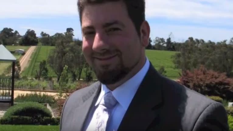 The 31-year-old died 24 hours after he landed in Melbourne. Photo: YouTube/ViceCityVacation