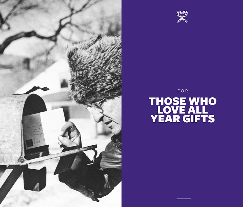 <p>The best presents to keep them well-fed, stylish, and entertained all year 'round. </p>