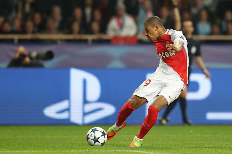Striking prodigy: Mbappe has emerged as Europe's most in-demand striker: AFP/Getty Images