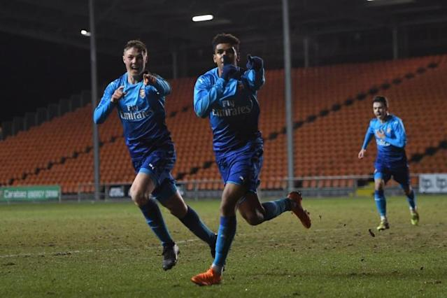 Arsenal U18s FA Youth Cup hopes in the balance after 2-2 draw at Blackpool