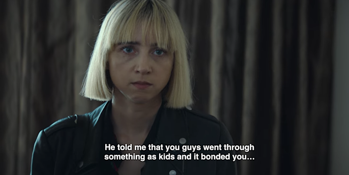 Emma knows that something traumatic happened when Nick and Pia were kids, which means that Dawn must have known. I get that coworkers can be close, but why wouldn't Nick use the heart attack line with Dawn — if he said anything about his dad at all?