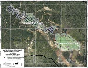Gold X Mining Shallow Resource Expansion Drill Program
