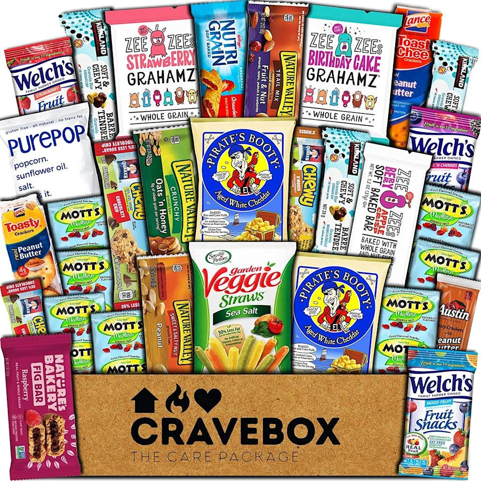 <p>Everyone can have a piece of this <span>CraveBox Healthy Care Package</span> ($25).</p>