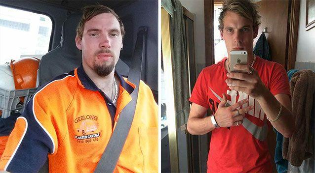 Twenty-four-year-old Grovedale driver Richard Lander died and his passenger is fighting for his life after a car crashed into a pole in North Geelong. Picture: 7 News