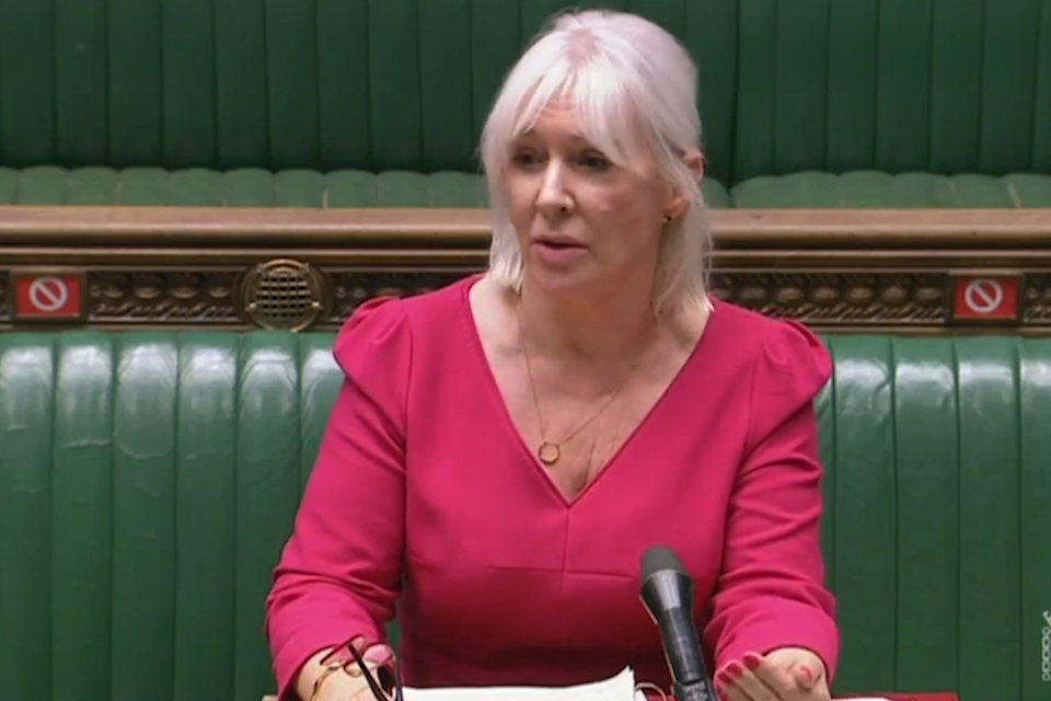 Nadine Dorries told MPs she is no longer immune from coronavirus: Parliament TV