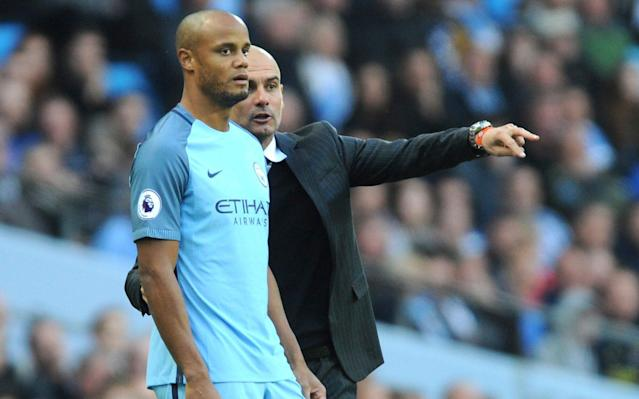 <span>It is widely expected that Kompany will be shown the door this summer</span> <span>Credit: AP </span>