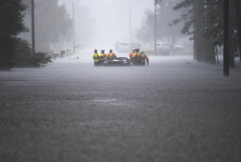 Florence causes near-record rain totals, river flooding in NC