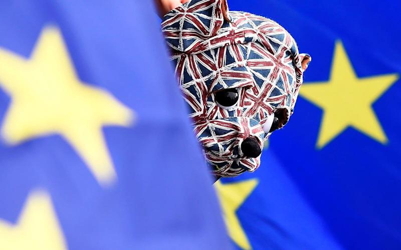 Britain will quit the EU by March 31 2019 at the latest - EPA/FACUNDO ARRIZABALAGA