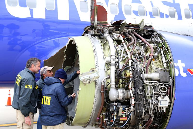 'I Wrapped My Arm Around Her.' Southwest Passenger Describes Helping Victim After Engine Explosion