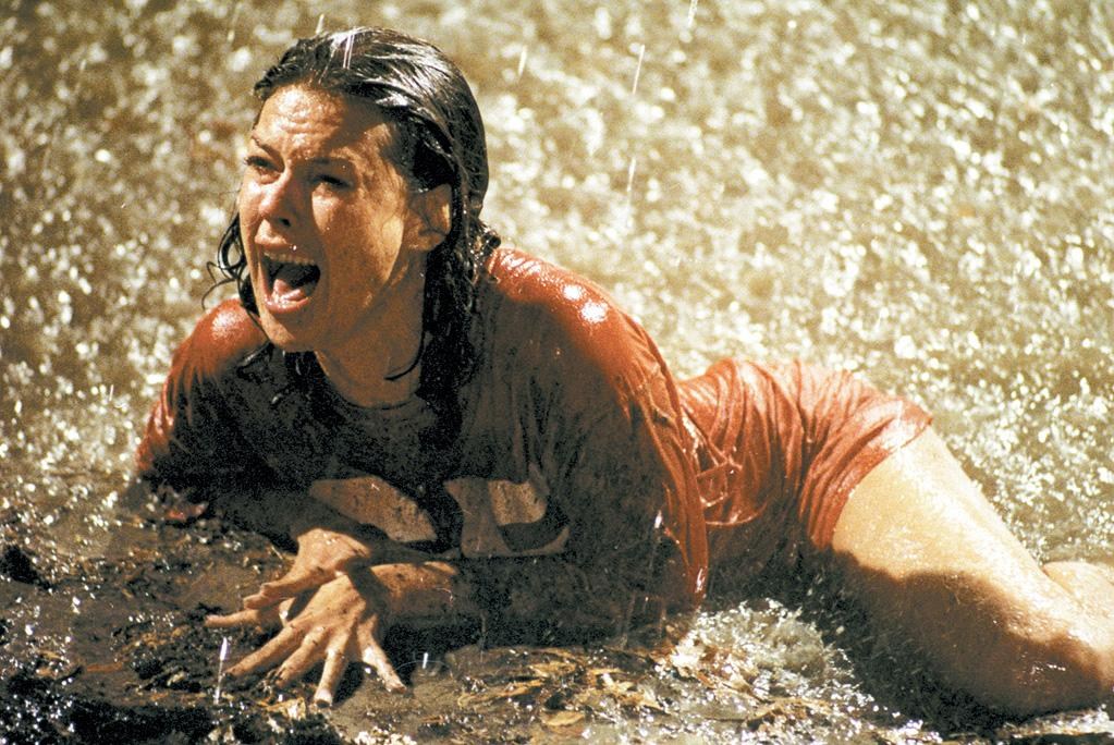 """Leah's Pick: <a href=""""http://movies.yahoo.com/movie/contributor/1800016968"""">JOBETH WILLIAMS</a> - <a href=""""http://movies.yahoo.com/movie/1800107071/info"""">Poltergeist</a>   """"This movie gave me nightmares -- especially the clown doll! JoBeth Williams was such a cool mother -- she did a great job of transitioning from curious wonder to terror as the you-know-what started to really hit the fan."""""""