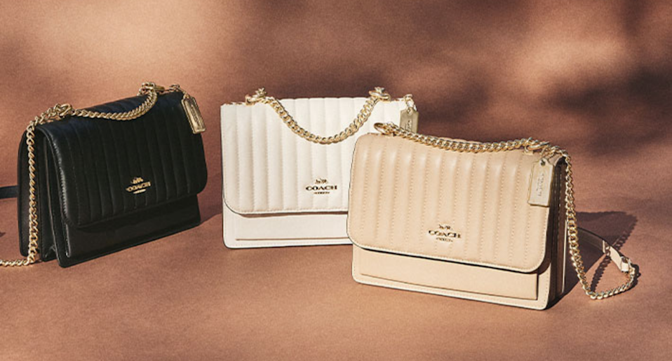 Coach Outlet's Canadian Thanksgiving sale is on now. Image via Coach.