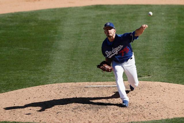 Grant Dayton struck out 91 batters in 52.0 minor league innings last season, and he was almost equally dominant for L.A. (Photo by Tim Warner/Getty Images)