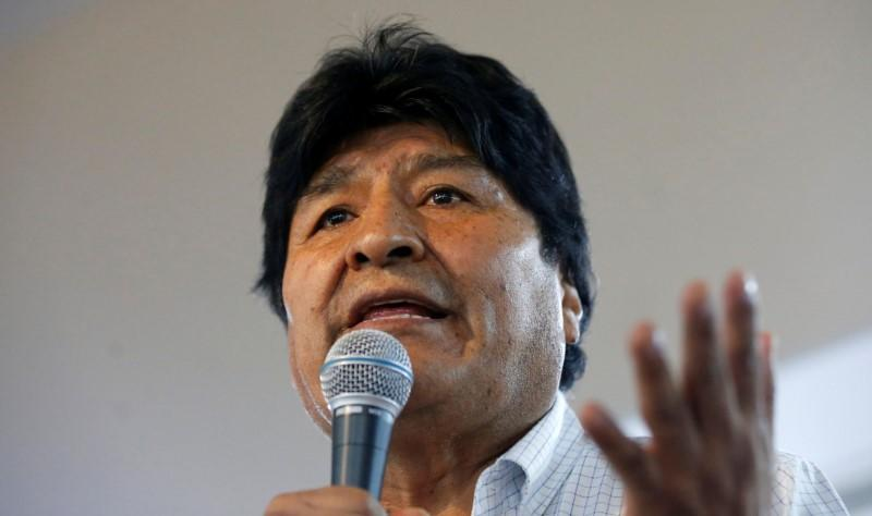 Bolivia Congress rubber stamps November resignation of Evo Morales