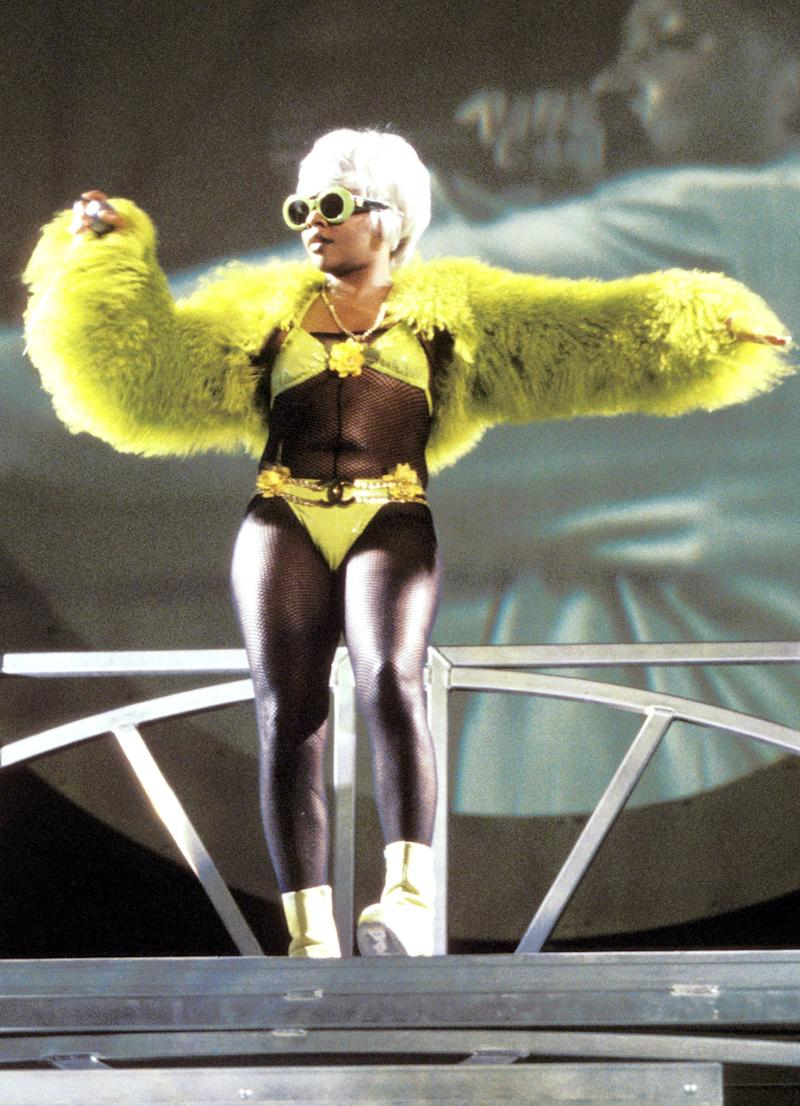 Lil' Kim during No Way Out Tour in New York, New York, United States. (Photo by KMazur/WireImage)