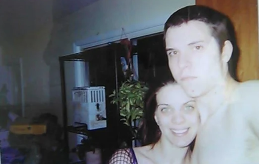 Photo of a couple who died from a heroin addiction.