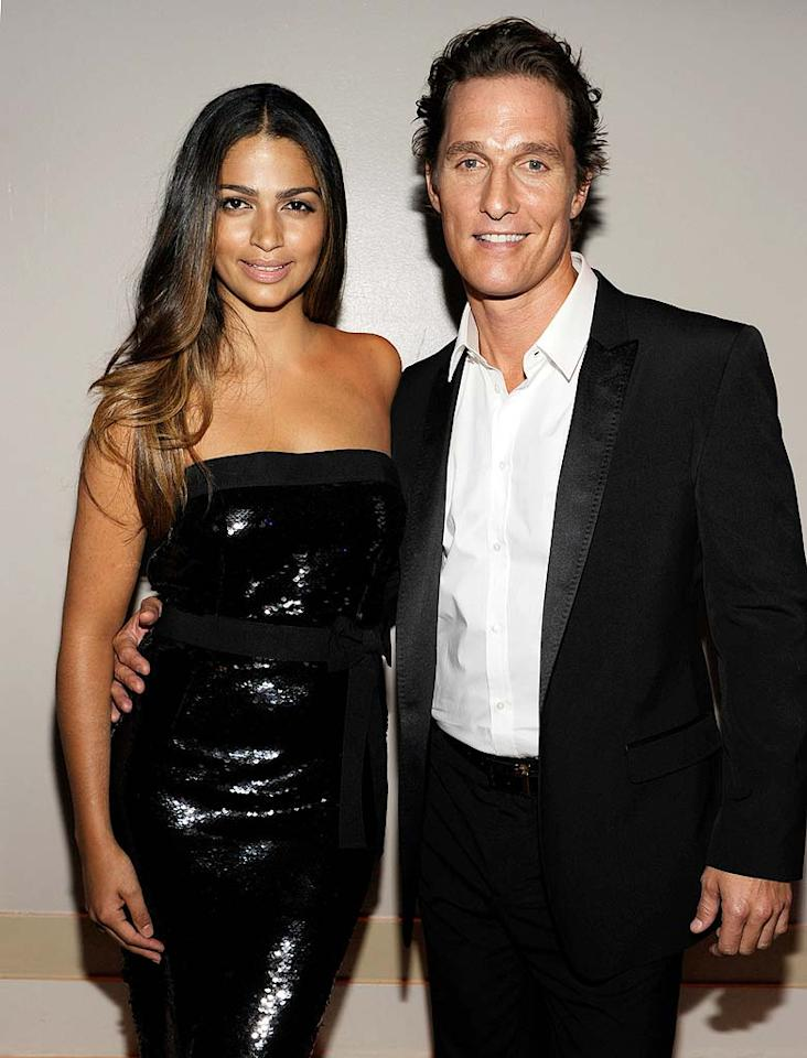 "Matthew McConaughey and Camila Alves kicked off 2010's celebrity baby boom when they welcomed their second child, Vida, into the world on January 3. Big brother Levi is 2. ""'Vida' is Portuguese for 'life' and that's what God gave us this morning,"" McConaughey blogged following his daughter's birth. Kevin Mazur/<a href=""http://www.wireimage.com"" target=""new"">WireImage.com</a> - June 15, 2010"