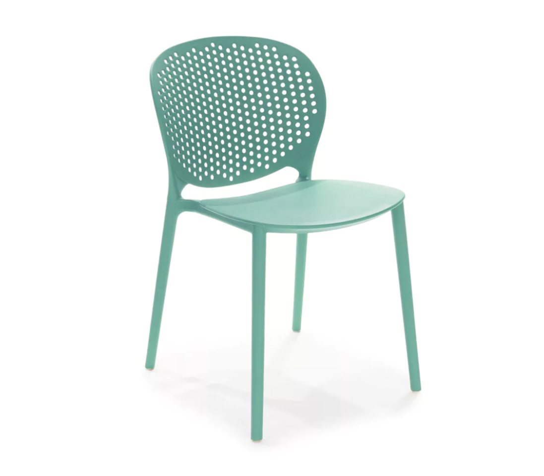 """<p><strong>Article</strong></p><p>article.com</p><p><strong>$69.00</strong></p><p><a href=""""https://www.article.com/product/2235/dot-malibu-aqua-dining-chair"""" target=""""_blank"""">BUY NOW</a></p><p>Add some minty fresh energy to your dorm room—it'll come in handy during those late night cram sessions.  </p>"""